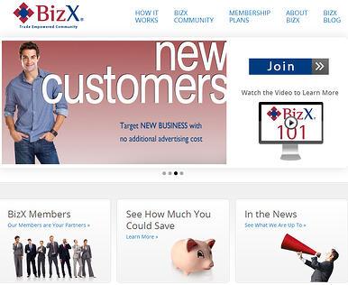 BizX Website