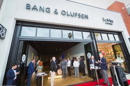 Bang & Olufsen La Jolla Grand Opening Pic