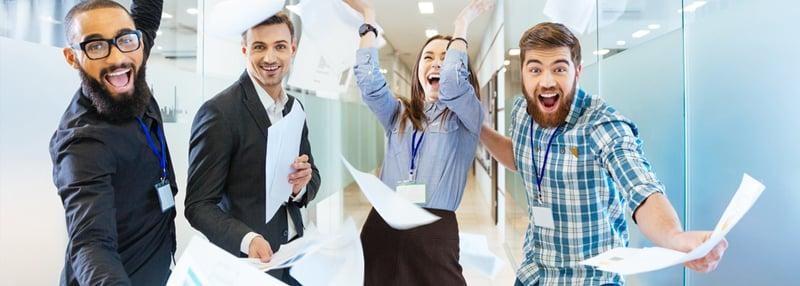 Excited Business Blog Header