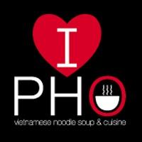 I love Pho Logo