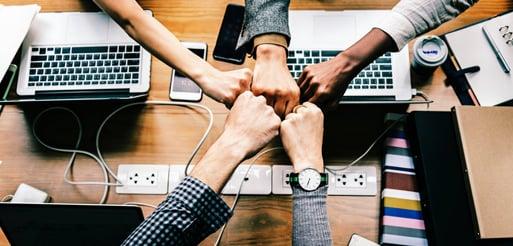 Team business blog header
