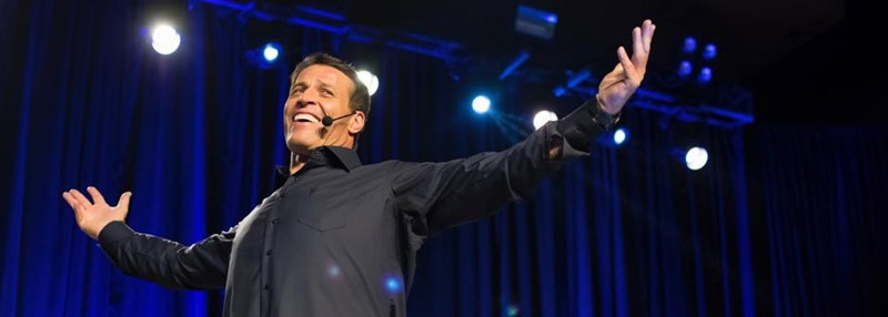 Tony Robbins Featured Blog Image