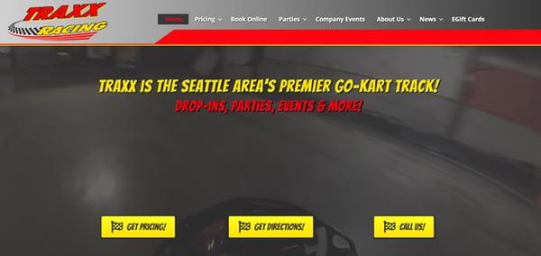 Traxx - New Website