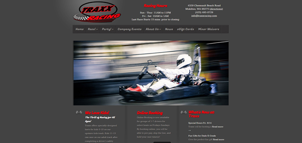 Traxx - Old Website