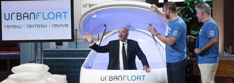 Urban Float Shark Tank Blog Header